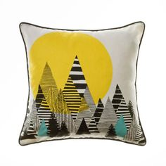 Noir soft furnishings from Home Republic