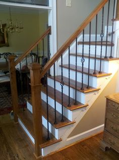 contemporary newel posts - Google Search