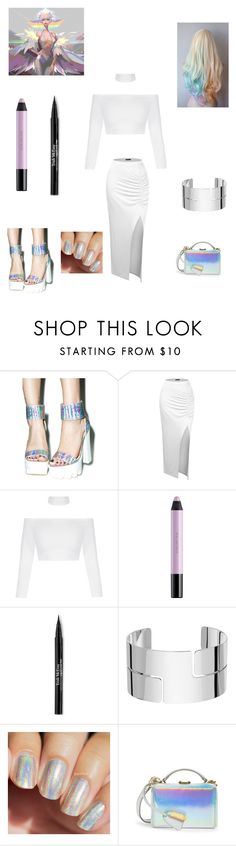 """Ragyo Kiryuin Casual"" by thatotakuchick ❤ liked on Polyvore featuring Wild Diva, Doublju, shu uemura, Trish McEvoy, Dinh Van and Mark Cross"