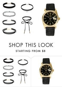 """Untitled #1008"" by amelia139 on Polyvore featuring Rolex"