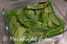 """Más allá del gluten...: """"Lasaña"""" de Papas y Verduras (Receta GFCFSF, Vegana)"""