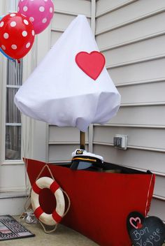 """""""Love Boat"""" themed Valentine's Day party!"""