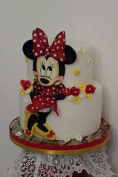 minnie cake by Gabriella Luongo
