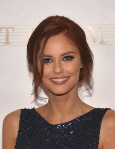 Alyssa Campanella Loose Bun - Alyssa Campanella fixed her locks into a loose…