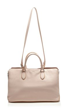 Leather Tote Bag by Rochas - Moda Operandi