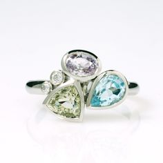 Meloneras ring by Qiva Jewellery