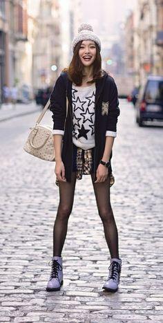 Tiffany Tang Yan street style