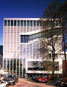 Royal Netherlands Embassy, Berlin, 2003 - Office for Metropolitan Architecture (O. Oma Architecture, Rem Koolhaas, Architectural Digest, Rotterdam, Netherlands, Dutch, Mansions, House Styles, Inspiration
