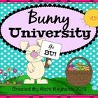 Welcome to Bunny University!  Here at Bunny U we are preparing bunnies for all Easter jobs including: egg dyeing, basket filling, basket delivery, ...$