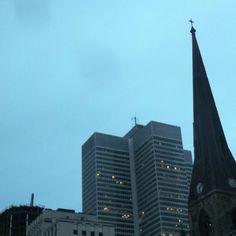 Le matin à Montréal
