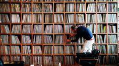 Record collector and photographer Eilon Paz began this extensive project, Dust & Grooves, as a way to document passionate vinyl album collectors within their most natural environments—their record rooms. For almost six years, Paz has Lps, Vinyl Collection, Collection Displays, Vinyl Room, Vinyl Record Storage, Record Shelf, Lp Storage, Media Storage, Vinyl Junkies