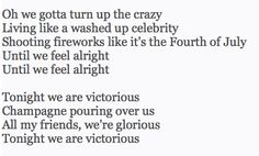 At The Disco - Victorious Music Hits, All Friends, Fourth Of July, Victorious, Feelings