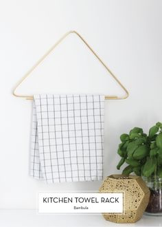 obsessed with this towel rack... can't find it for sale, possible DIY?