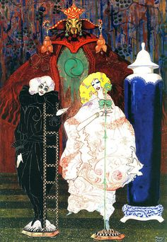 The Shepherdess And The Chimney Sweeper By Harry Clarke