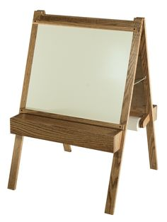 This Child's Dry Erase/Chalkboard Art Easel is a wonderful starter piece for our next Rembrandt. Tree Furniture, Kids Furniture, Furniture Making, Making Wooden Toys, Art Easel, Babe Cave, Furniture Direct, Chalkboard Art, Kids Gifts