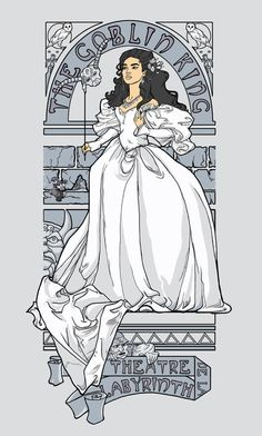 Theatre de la Labyrinth v2 Stretched Canvas by Karen Hallion Illustrations   Society6