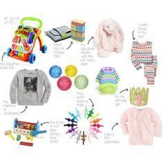 Tegu Pocket Pouch Tints - baby gift guide by huntzbg on Polyvore featuring J.Crew, Jellycat and VTech