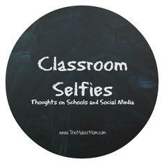 "Many schools think social media is a great way to ""tell their stories."" But are classroom selfies really all that? Are schools on social media a good thing?"