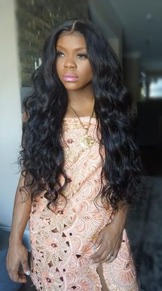 Luffy Body Wave Non Remy Brazilian Silk Base Full Lace Human Hair Wigs With Baby Hair For Black Women Natural Color 130% Density http://s.aliexpress.com/B7jqqaee (from AliExpress Android)
