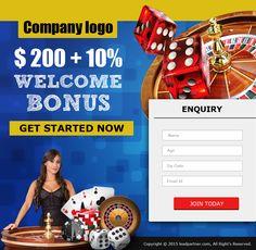 Casino Landing Page 1