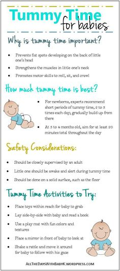 Tips for Tummy Time. Tummy time is a frequent activity in our house. This post explains why it's important, how much tummy time is best, tummy time safety considerations, and tummy time activities to try. (scheduled via http://www.tailwindapp.com?utm_source=pinterest&utm_medium=twpin&utm_content=post203974883&utm_campaign=scheduler_attribution)