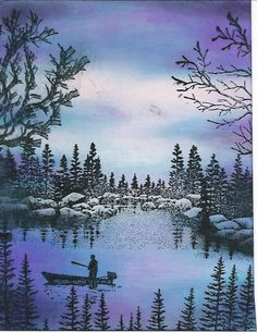 RAINBOW LAKE by The Griz - Cards and Paper Crafts at Splitcoaststampers