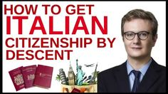 How to get Italian citizenship by descent