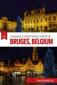 If youre looking to get into the Christmas spirit, consider a trip to Bruges. Today our guest contributor, Adriana, tells us why winter is her favourite time to visit this gem in Flanders.