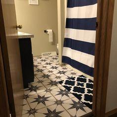 Tile Decals Tiles for Kitchen/Bathroom Back splash Floor | Etsy Tile Decals, Vinyl Tiles, Vinyl Flooring, Marble Effect Wallpaper, Vinyl Wallpaper, Floor Decal, Floor Stickers, Floor Design, Tile Design