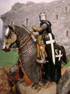 knights | Home :: 1:32 Scale :: Mounted Knights :: Hospitaller Knight