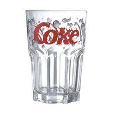 Verre à soda 36 cl Coca-Coca Bubble vendu par 2 LUMINARC