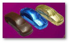3D AUTA z čokolády, čokoládové 3D AUTA, Ferrari, Audi, Skoda Pool Slides, Ferrari
