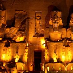 Temple at Abu Simbel