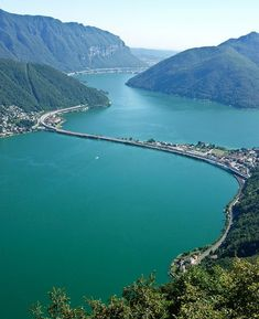 Beautiful Lake Lugano – Switzerland