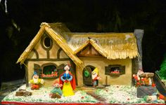 #gingerbread house #cookie house #Christmas snow white and the seven dwarfs
