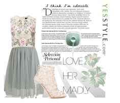 """""""#24. Vintage Pastels."""" by taylaa89 ❤ liked on Polyvore featuring Relaxfeel, Needle & Thread, Balmain, Dolce&Gabbana and vintage"""