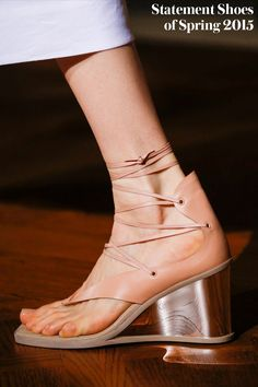 Spring 2015 Runway Statement Shoes