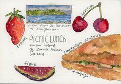 sketchbook from France ~ Jane LaFazio | The Sketchbook Challenge | Bloglovin'