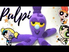 Crochet Projects, Snoopy, Disney Characters, Videos, Youtube, Sewing Patterns, Crochet Crafts, Powerpuff Girls, Bubble