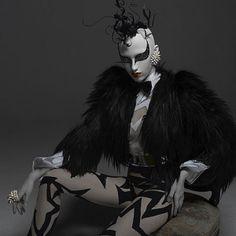 cyber chic, cyber, cyber girl, cyberpunk, cyberpunk girl, cyber punk, cyber dress, cyber style, cyber clothing, cyber clothes, black clothes by FuturisticNews.com