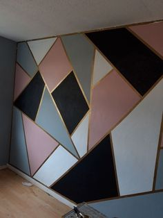 Bedroom Wall Designs, Room Design Bedroom, Home Room Design, Room Ideas Bedroom, Teen Wall Designs, Diy Bedroom, Room Wall Painting, Room Paint, Body Painting