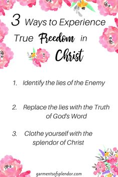 Three Ways to Experience True Freedom in Christ - Neu Christian Women Quotes, Christian Faith, Christian Living, Save My Marriage, Marriage Advice, Freedom In Christ, Freedom Freedom, Identity In Christ, True Identity