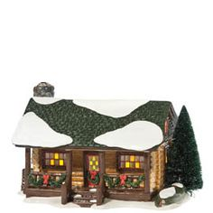** wish list ** Department 56 Original Snow Village Loon Lake Cabin Lit House Christmas In The City, Christmas Place, Christmas Town, Christmas Villages, Christmas 2014, Holiday, Christmas Ideas, Xmas, Department 56 Christmas Village