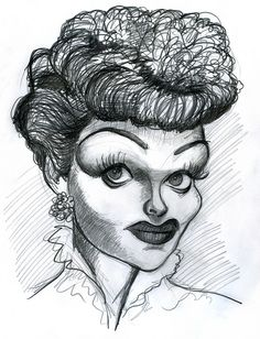 Lucille Ball  (by Jason Cottle)
