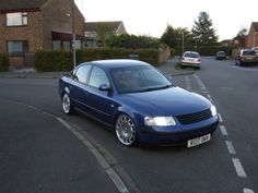 B5 Passat Slammed | ... topic - hillbill's Static Decked, Hybrid k03'd Passat On Merc Rims