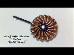 DIY Nespresso: Comment-faire une barrette fleur - YouTube