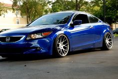 Stanced 8th gen accord coupe :)