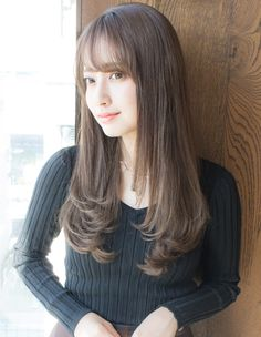 Haircuts For Medium Hair, Hairstyles With Bangs, Medium Hair Styles, Long Hair Styles, Hair Goals Color, Hair Color, Love Hair, My Hair, Peekaboo Hair