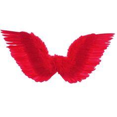 Alas Plumas Rojas #alasdisfraz #accesoriosdisfraz #accesoriosphotocall