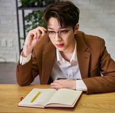 Ghana x Wanna One Love At First Sight, First Love, My Love, Together Forever, My Forever, Boyfriend Style, Boyfriend Material, Guan Lin, Cute Glasses